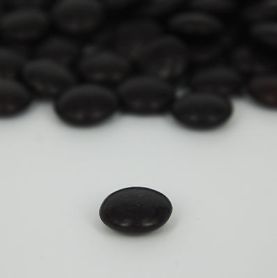 NEW Single Coloured Choc Drops - BLACK - Personalised Chocolates