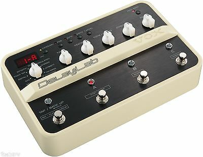 Vox Delaylab - The Ultimate Delay / Looper Guitar Effect Pedal  - Brand New!