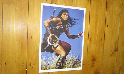 Xena Warrior Princess Lucy Lawless Sky POSTER