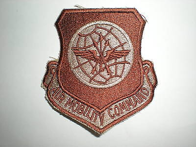 Usaf Air Mobility Command Patch - Desert