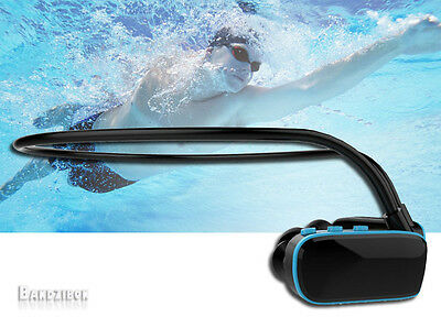 4GB Water Proof Swim MP3 Player Under Sports Pool Running Swimming Headphones