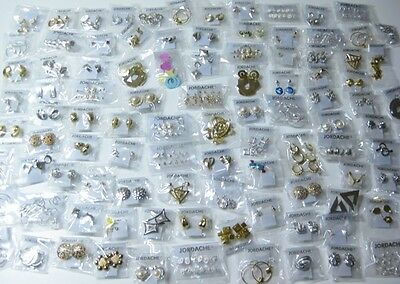 48 Package Lot of All Different Brand New Sets of Earrings ( way over 48 pairs )
