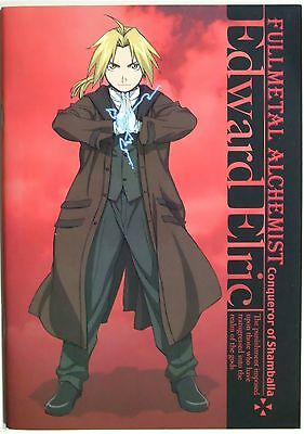 Fullmetal Alchemist Edward Elric Notebook official anime