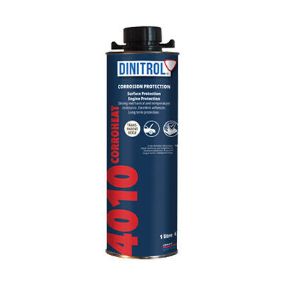 Dinitrol 4010 High Temperature Rust Proofing Engine Coating Wax 1 Litre