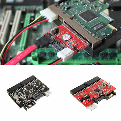 2 Way IDE To SATA or SATA To IDE Converter Adapter UK 1st post