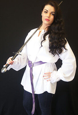 LARP/Regency/Steampunk/Pirate/Gothic Quality Swords Woman Duelling Shirt-Blouse