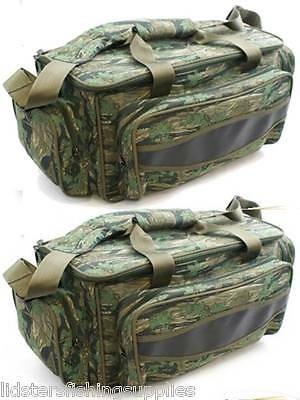 2 x Brand New Camo Carp Fishing Tackle Bags Holdalls SIZE 52 X 36 X 42CM