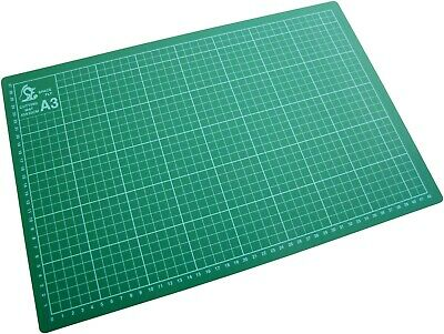 A2 or A3 or A4 Cutting Mat Non Slip Printed Grid Lines Knife Board Crafts Models