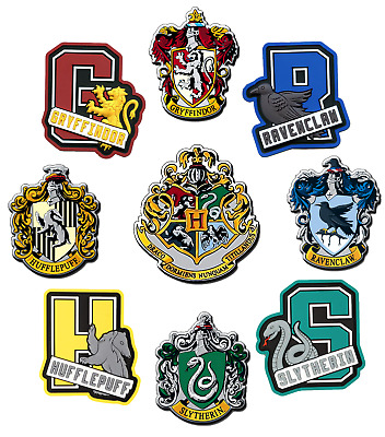 Harry Potter Iron On T-Shirt Transfer House Crests Hogwarts Gryffindor Lot Hpc