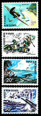 1967 PNG 25th Anniversary South Pacific War MUH