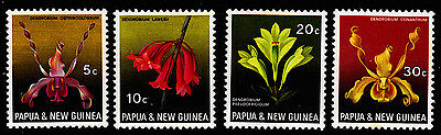 1969 PNG Orchids (Definitives) MUH