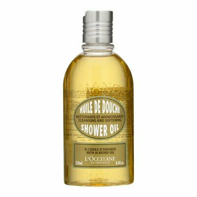 1 PC L'Occitane Almond Shower Oil 250ml Body Bath Cleansers Natural Organic