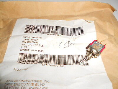 Lot 22 Nos! Goodrich Toggle Switch C5072485 5930014304601