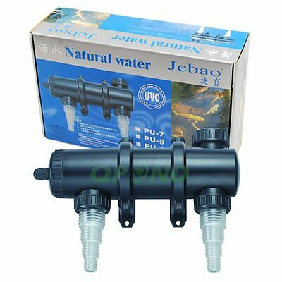 Jebao 18 Watts Uv Clarifier Sterilizer For Koi Fish Pond Reef Aquarium Saltwater