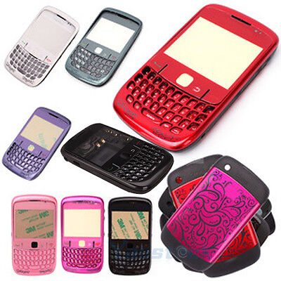 New Full Housing Case Cover for BlackBerry Curve 8520 + Tools