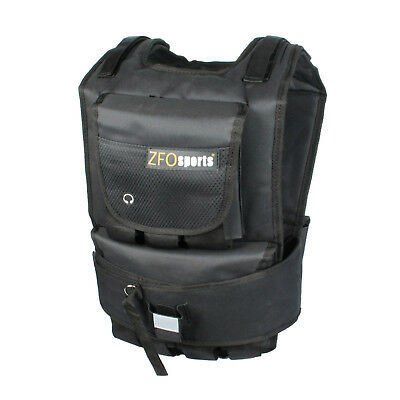 ZFO Sports® - 60LBS Adjustable Exercise Fitness Weighted Vest