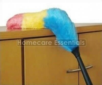 Antistatic Duster with Flexible Head and Telescopic Handle Extends to 1.96m