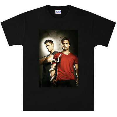 Supernatural Dean and Sam Winchester T Shirt New Black or White