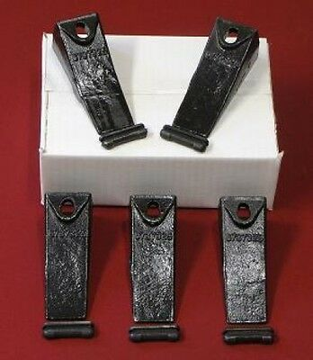 6737325 5 Pack Bobcat Style Dirt Digging Bucket Teeth/Tooth&5-6737326 FlexPins