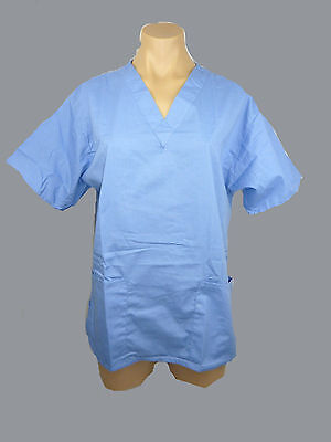Medical Scrubs- Unisex- Top/ Uniform. Nurse/ Vet/ Dental/ Doctor- BN Choose Size