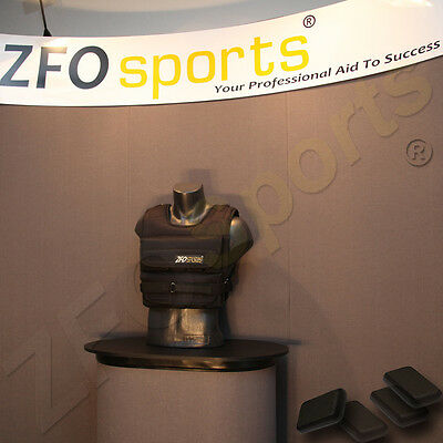 ZFO Sports® - 60LBS(Short Style) WEIGHT WEIGHTED VEST / NEW / Check Our Feedback