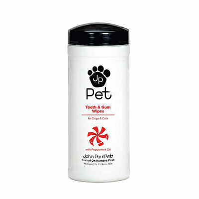 JOHN PAUL PET Tooth and Gum Wipes 45 sheets Paul Mitchell