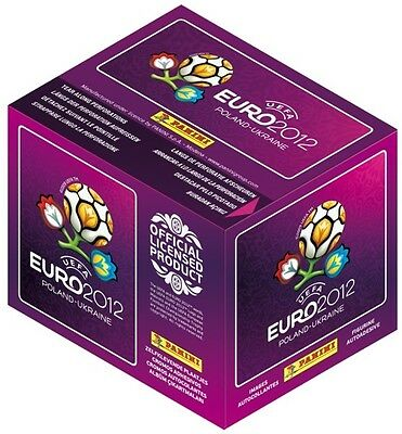Euro 2012 Panini Sticker Collection ~ 100 Packs + FREE FACE PAINTS & 3 FIGURES