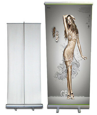 Retractable Roll Up Banner Stand WITH PRINTING