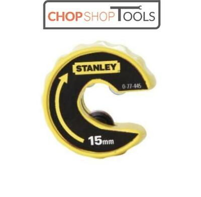 Stanley STA070445 Plumbing Automatic Pipe Cutter 15mm Copper Pipe Slice 0-70-445