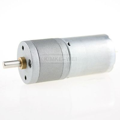 12V DC 500RPM Powerful High Torque Gear Box Motor