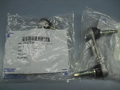 97 98 99 00 01 -05 C5 Corvette Sway Bar Link Set New GM Updated Metal 20822934X2