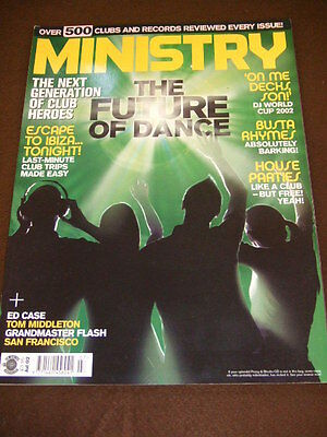 MINISTRY MAGAZINE - THE FUTURE OF DANCE - July 2002 #54