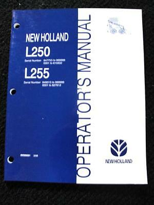 new holland l225 skid steer owners manual