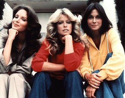FARRAH FAWCETT CHARLIE'S ANGEL CAST Jaclyn Smith GLOSSY PICTURE 8x10 PHOTO