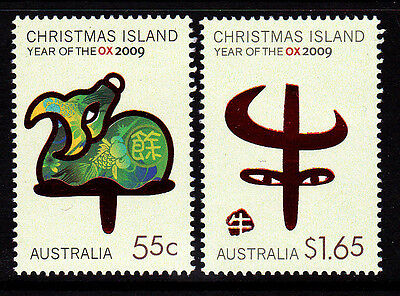 2009 Christmas Island Year Of The Ox  MUH