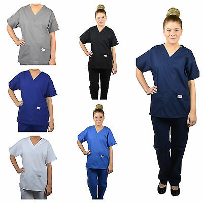 ScrubShine Medical Scrubs Set/ Uniform. Nurse- BN Choose Size & Colour