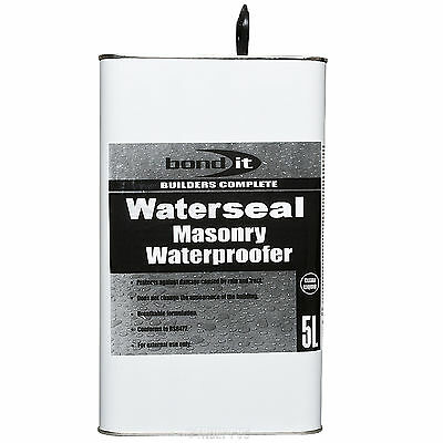 Waterseal Brick Stone Mortar Concrete Waterproof Seal & Frost Protect Coating