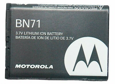 OEM MOTOROLA  BN71 SNN5836A BATTERY for MOTOROLA BARRAGE V860