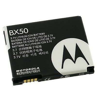 AUTHENTIC OEM MOTOROLA RAZR2 V8 V9 V9m V9x Z9 - MOTOROLA BX50 BATTERY