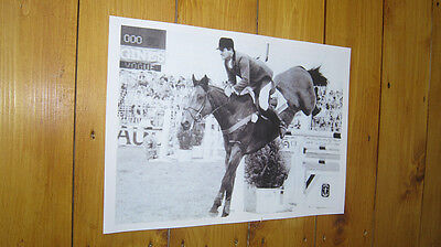 Harvey Smith Show Jumping Legend POSTER