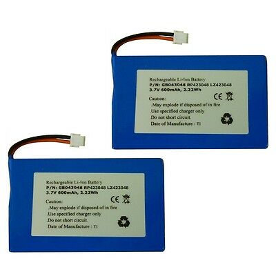 2x BT Verve 500 Cordless Phone Batteries Li-ion 3.7v 600mah MT LZ423048 RP423048