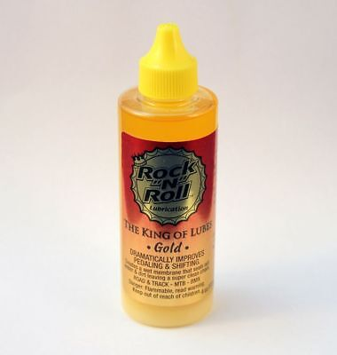Rock N Roll Gold 4Oz Bike Bicycle Lube