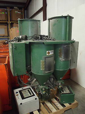 Process Controls Continuous Gravimetric Blender with Controls