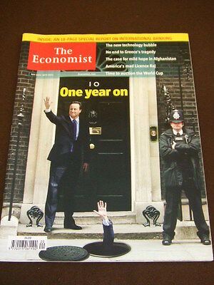 THE ECONOMIST - CAMERON ONE YEAR ON - May 14 2011 Vol 399 # 8733