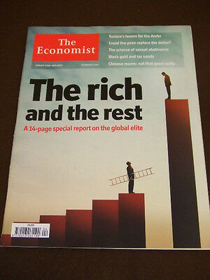 THE ECONOMIST - THE RICH AND THE REST - Jan 22 2011 Vol 398 # 8717