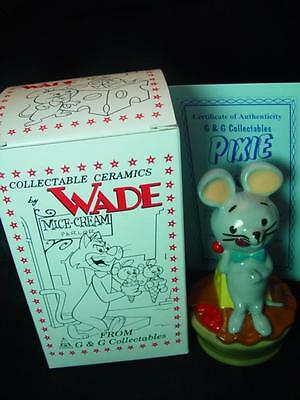 """WADE PIXIE MOUSE HANNA BARBERA 5"""" TALL 1997 Ltd ed mint boxed ideal gift ref 102"""