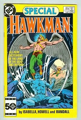 Hawkman Special #1 VF 1986 In the Land of the Dead