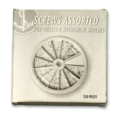 Screws for vintage mechanical and quartz watches x250 parts repairs watchmakers