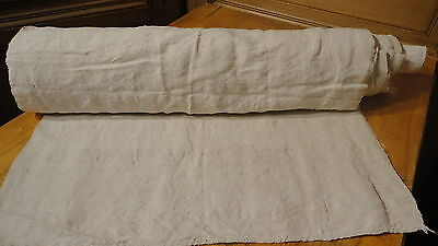 Homespun Linen Hemp/Flax Yardage 12.5 Yards x 24'' Plain  #2803