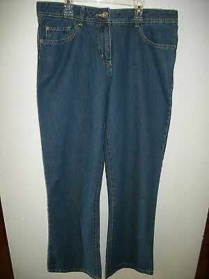 Womens Basic Jeans Size 14S (Nwot)
